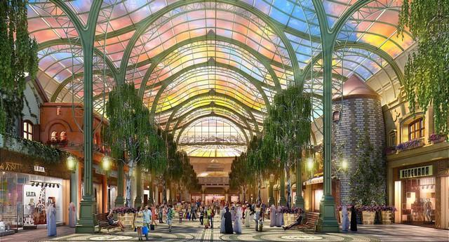 Trung tâm thương mại biết sống và thở lớn nhất thế giới tại Dubai - Ảnh 2.