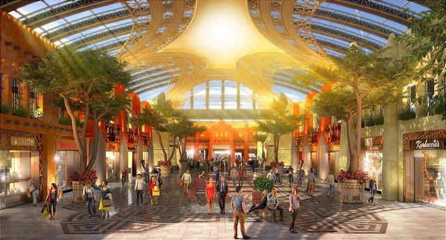 Trung tâm thương mại biết sống và thở lớn nhất thế giới tại Dubai - Ảnh 4.