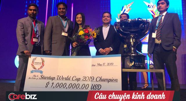Chuyện chưa kể về Abivin trong Startup World Cup 2019: Vẫn chưa được rót vốn sau Shark Tank VN, không đủ vé cho 2 người sang Mỹ nên cô vợ Hoàng Anh phải pitching một mình, không ngờ ẵm luôn giải vô địch! - Ảnh 3.