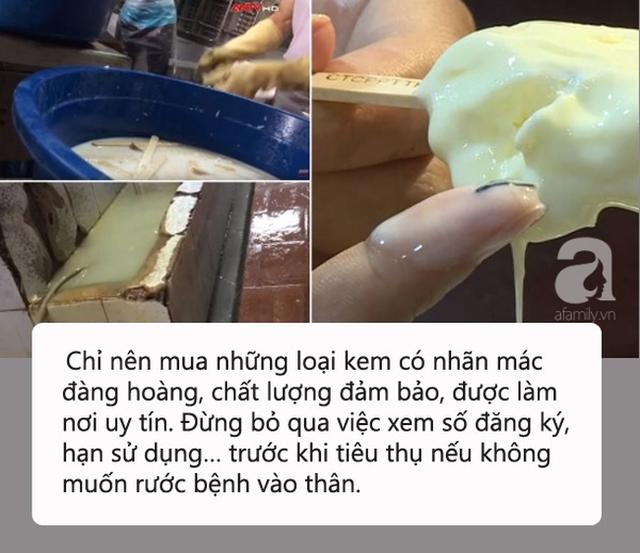 Kinh hãi quy trình sản xuất kem siêu bẩn tại Hà Nội: Coi chừng nhiễm melamin, ngộ độc vì chuộng ăn kem vị lạ giá rẻ! - Ảnh 1.
