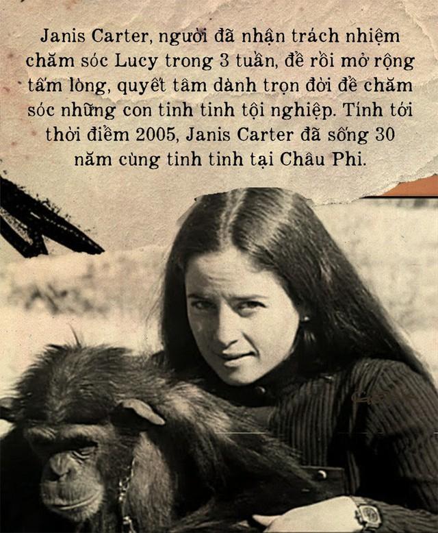 Câu chuyện đau lòng về Lucy, con tinh tinh vẫn tưởng mình là người - Ảnh 8.