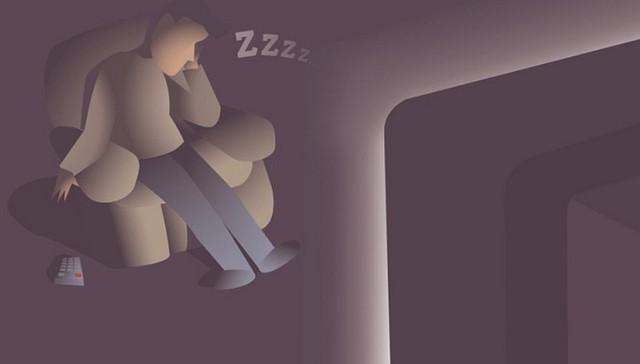 Nghiên cứu: Vừa ngủ vừa bật đèn hoặc vừa ngủ vừa bật TV dễ dẫn tới béo phì - Ảnh 1.