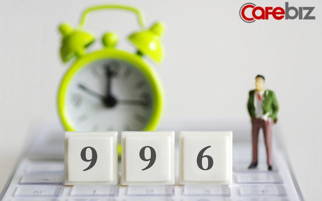 Jack Ma nói: Làm việc bạn thực sự thích, 996 sẽ không thành vấn đề. Ngược lại, mỗi phút đi làm đều là cực hình và cách các công ty Trung Quốc khiến nhân viên tự nguyện 996 - Ảnh 1.