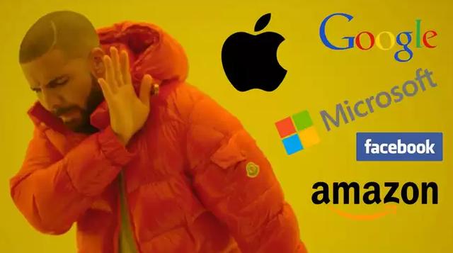 Công ty nào sẽ sụp đổ đầu tiên: Google, Apple, Facebook, Amazon hay Microsoft? - Ảnh 1.