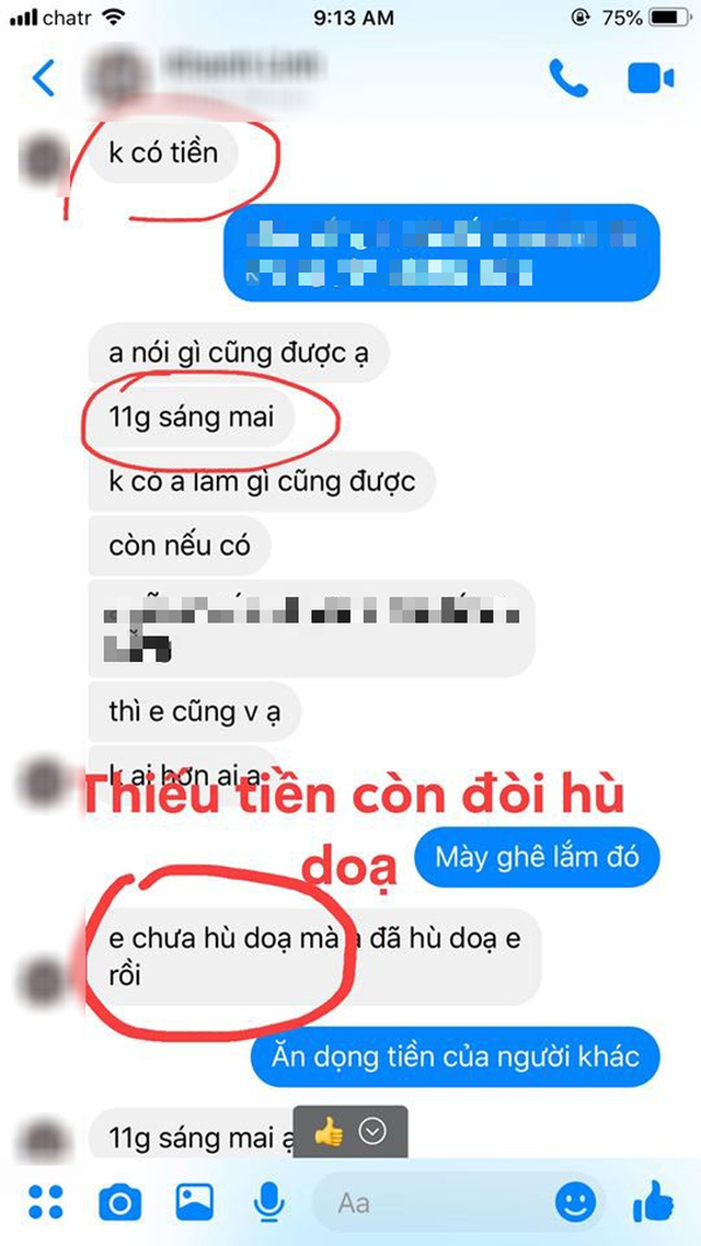 Nữ du học sinh Việt sinh năm 2001 bị tố lừa đảo hơn 350 triệu đồng, đòi lại tiền còn bị gia đình hăm doạ - Ảnh 8.