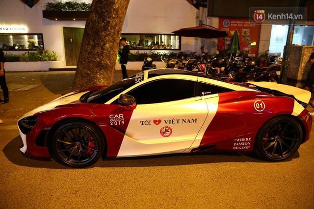 Clip: Dàn siêu xe hơn 300 tỷ rầm rộ tụ họp trên đường phố Hà Nội, Cường Đô La và vợ cũng xuất hiện với chiếc Audi R8V10 - Ảnh 7.