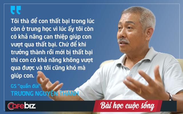 Giáo sư quần đùi Trương Nguyện Thành chia sẻ cách dạy con của ông nội: Giả vờ không biết để được trẻ hướng dẫn, là dạy mà như không dạy! - Ảnh 1.