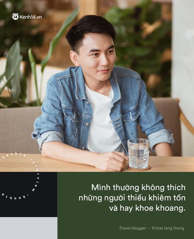 Blogger điển trai Khoai Lang Thang tiết lộ từng bị lừa tiền năm 18 tuổi, giàu hơn rất nhiều khi bỏ nghề kỹ sư để làm du lịch - Ảnh 5.
