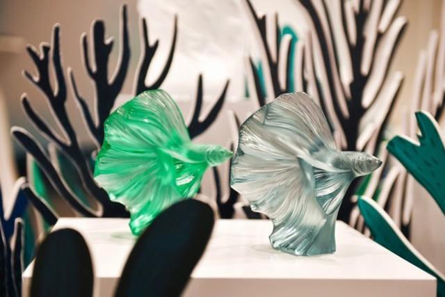 Thương hiệu pha lê cao cấp Lalique chính thức ra mắt tại Hà Nội, giới thượng lưu choáng ngợp trước BST Aquatique mỹ lệ - Ảnh 1.