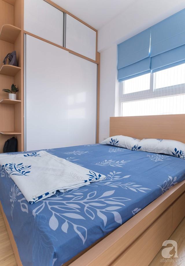 Căn hộ 66m² trên tầng cao với thiết kế đơn giản ở quận Thanh Xuân của gia chủ yêu màu xanh biển - Ảnh 15.