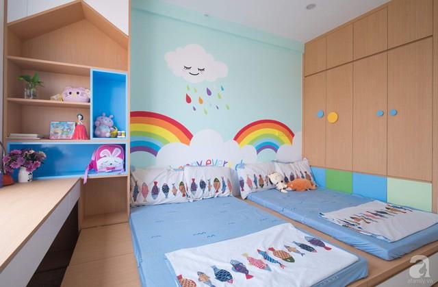 Căn hộ 66m² trên tầng cao với thiết kế đơn giản ở quận Thanh Xuân của gia chủ yêu màu xanh biển - Ảnh 19.
