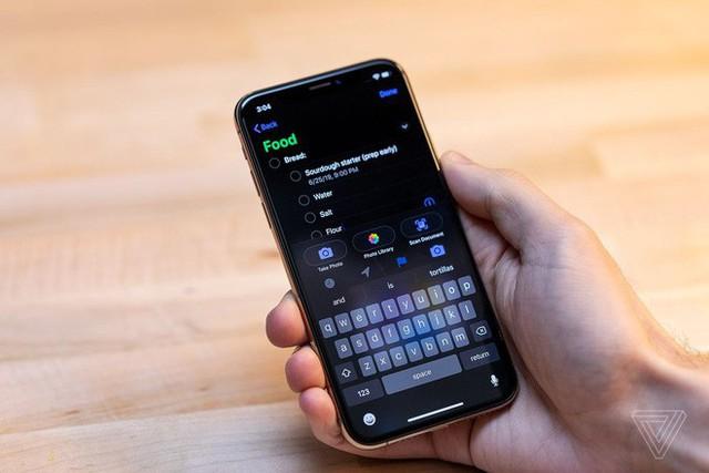 Cận cảnh iOS 13 Public Beta: Giao diện Dark Mode, ứng dụng Apple Maps và Reminder hoàn toàn mới, bàn phím vuốt - Ảnh 8.