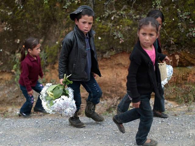 Những bức ảnh lay động lòng người cho thấy sự tàn nhẫn của thảm họa di cư, khi hàng rào thép gai nơi biên giới cứa nát cuộc đời những đứa trẻ - Ảnh 18.