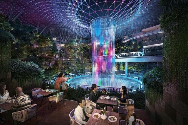 Chất lừ với Apple Store thứ 2 ở Singapore: Đặt ở sân bay mà cứ ngỡ lạc vào rừng tiên trong phim ảnh - Ảnh 4.