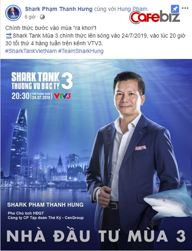 Cá mập chính đầu tiên của Shark Tank VN mùa 3 lộ diện: Vị Shark đầu tiên giải ngân deal triệu USD tuyên bố chính thức bước vào mùa ra khơi! - Ảnh 1.