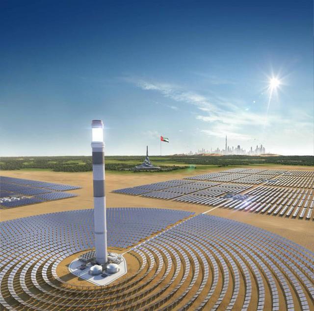 Giữa sa mạc Dubai, người ta sắp sửa hoàn thiện công viên năng lượng Mặt Trời khổng lồ có thể xô đổ mọi thứ kỷ lục - Ảnh 3.