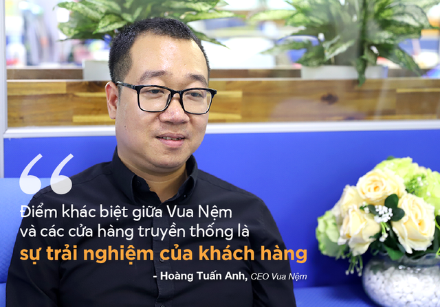CEO Vua Nệm kể chuyện cắm sổ đỏ lấy tiền kinh doanh và thương vụ đầu tư 100 tỷ đồng từ Mekong Capital - Ảnh 6.