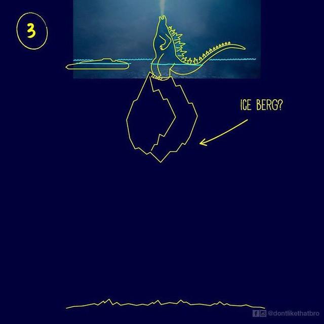 Làm thế nào Godzilla cao 120m có thể nổi giữa đại dương sâu cả nghìn mét? Internet đã có câu trả lời! - Ảnh 3.