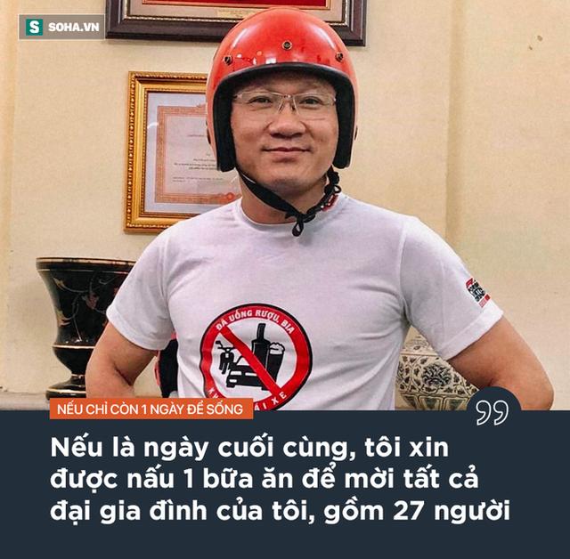 """Ông Khuất Việt Hùng: """"Nếu chỉ còn 1 ngày để sống, tôi sẽ dặn con hãy thay bố YÊU MẸ và sống TRUNG THỰC"""" - Ảnh 1."""