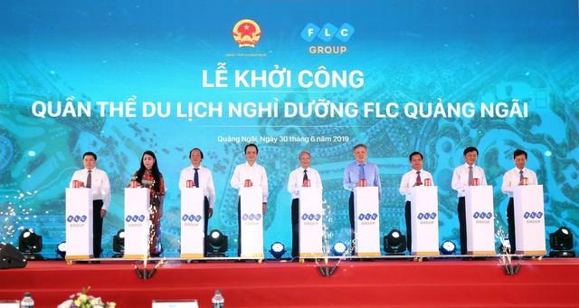 FLC của Chủ tịch Trịnh Văn Quyết rót 11.000 tỷ đồng đầu tư dự án nghỉ dưỡng tại Quảng Ngãi - Ảnh 1.