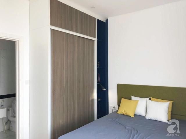 Căn hộ 96m² trên tầng 32 ở Hà Nội đơn giản nhưng vẫn hút ánh nhìn nhờ cách phối màu trẻ trung - Ảnh 11.