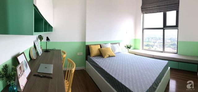 Căn hộ 96m² trên tầng 32 ở Hà Nội đơn giản nhưng vẫn hút ánh nhìn nhờ cách phối màu trẻ trung - Ảnh 14.
