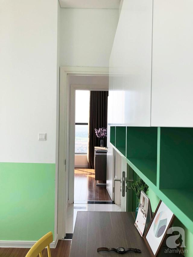 Căn hộ 96m² trên tầng 32 ở Hà Nội đơn giản nhưng vẫn hút ánh nhìn nhờ cách phối màu trẻ trung  - Ảnh 16.