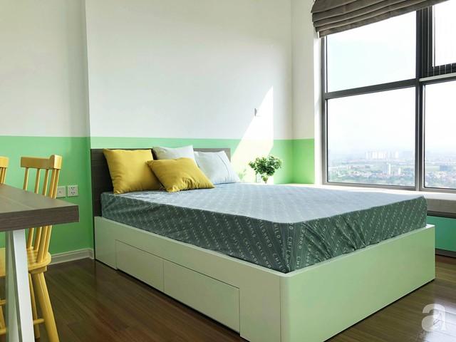 Căn hộ 96m² trên tầng 32 ở Hà Nội đơn giản nhưng vẫn hút ánh nhìn nhờ cách phối màu trẻ trung  - Ảnh 19.