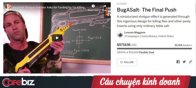 Bỏ học cấp 3, nghề nghiệp không ổn định, phát minh ra súng muối bắn… ruồi và trở thành triệu phú đô la - Ảnh 2.