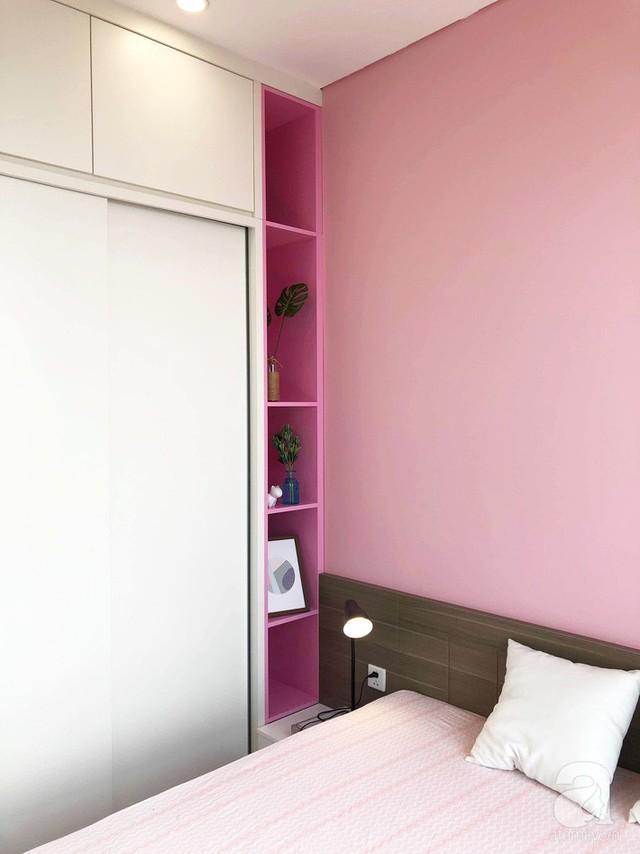 Căn hộ 96m² trên tầng 32 ở Hà Nội đơn giản nhưng vẫn hút ánh nhìn nhờ cách phối màu trẻ trung - Ảnh 23.