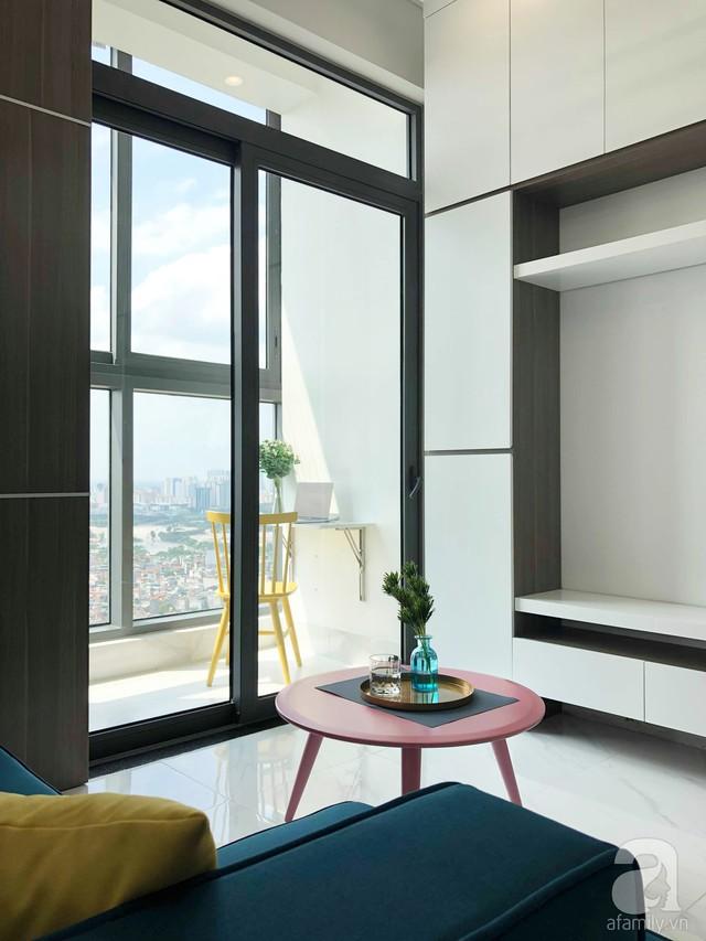 Căn hộ 96m² trên tầng 32 ở Hà Nội đơn giản nhưng vẫn hút ánh nhìn nhờ cách phối màu trẻ trung  - Ảnh 5.
