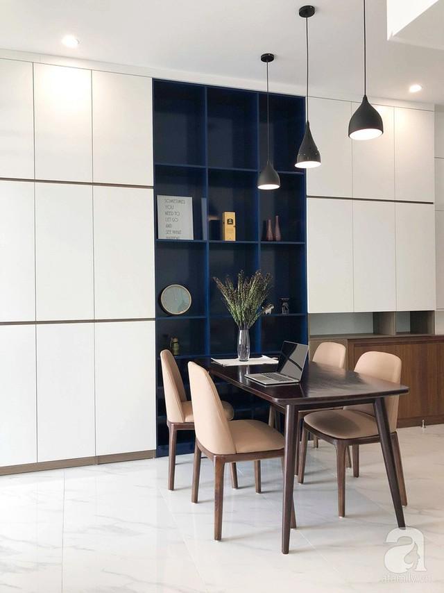 Căn hộ 96m² trên tầng 32 ở Hà Nội đơn giản nhưng vẫn hút ánh nhìn nhờ cách phối màu trẻ trung  - Ảnh 8.