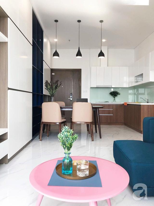 Căn hộ 96m² trên tầng 32 ở Hà Nội đơn giản nhưng vẫn hút ánh nhìn nhờ cách phối màu trẻ trung - Ảnh 10.
