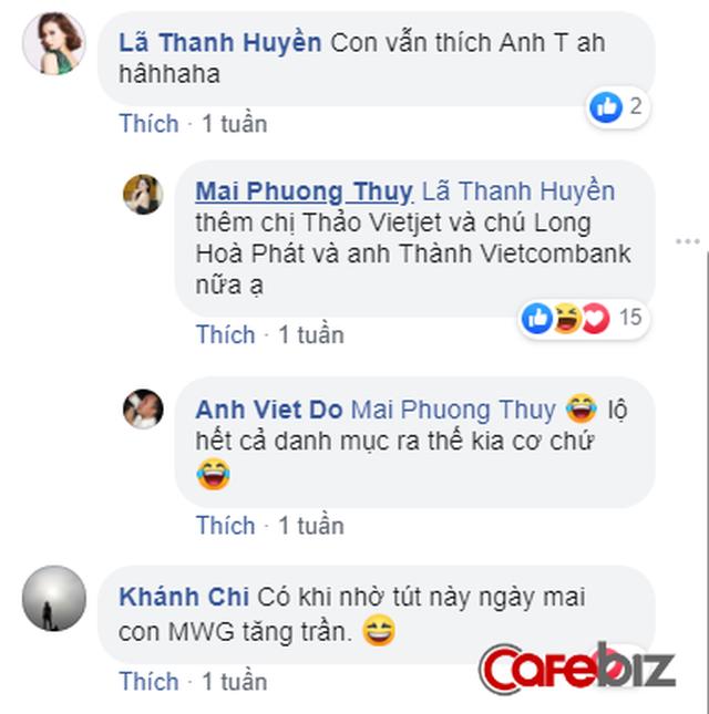 Hoa hậu Mai Phương Thúy gây sốt với tài dự đoán giá cổ phiếu, nhiều nhà đầu tư đùa vui gọi là cổ phiếu hoa hậu - Ảnh 5.