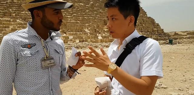 """Tự nhận là YouTuber Việt đầu tiên chi """"tiền tấn"""" review Kim Tự Tháp, Khoa Pug vạch trần nhiều sự thật không ngờ về tọa độ nổi tiếng này - Ảnh 15."""