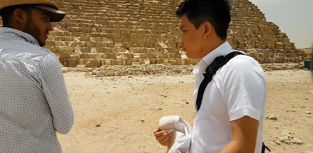 """Tự nhận là YouTuber Việt đầu tiên chi """"tiền tấn"""" review Kim Tự Tháp, Khoa Pug vạch trần nhiều sự thật không ngờ về tọa độ nổi tiếng này - Ảnh 16."""