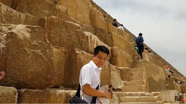 """Tự nhận là YouTuber Việt đầu tiên chi """"tiền tấn"""" review Kim Tự Tháp, Khoa Pug vạch trần nhiều sự thật không ngờ về tọa độ nổi tiếng này - Ảnh 21."""