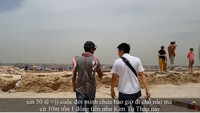 """Tự nhận là YouTuber Việt đầu tiên chi """"tiền tấn"""" review Kim Tự Tháp, Khoa Pug vạch trần nhiều sự thật không ngờ về tọa độ nổi tiếng này - Ảnh 28."""