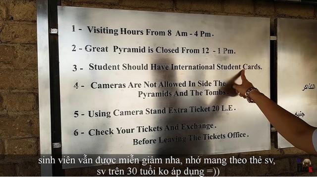 """Tự nhận là YouTuber Việt đầu tiên chi """"tiền tấn"""" review Kim Tự Tháp, Khoa Pug vạch trần nhiều sự thật không ngờ về tọa độ nổi tiếng này - Ảnh 7."""