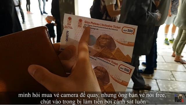 """Tự nhận là YouTuber Việt đầu tiên chi """"tiền tấn"""" review Kim Tự Tháp, Khoa Pug vạch trần nhiều sự thật không ngờ về tọa độ nổi tiếng này - Ảnh 10."""