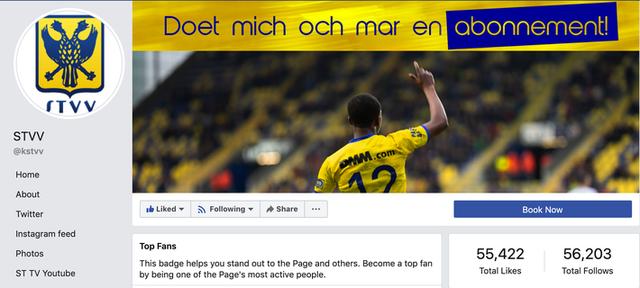 Chỉ với 1 tấm ảnh, Công Phượng đem về lượng like fanpage cho đội bóng Bỉ bằng 10 năm trước cộng lại - Ảnh 2.