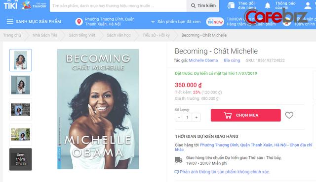 Chất Michelle - hồi ký của cựu Đệ nhất Phu nhân Hoa Kỳ Michelle Obama là cuốn sách có giá bản quyền cao nhất lịch sử xuất bản Việt Nam? - Ảnh 2.