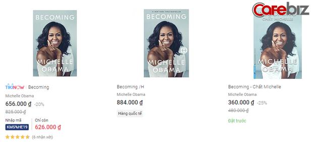 Chất Michelle - hồi ký của cựu Đệ nhất Phu nhân Hoa Kỳ Michelle Obama là cuốn sách có giá bản quyền cao nhất lịch sử xuất bản Việt Nam? - Ảnh 1.