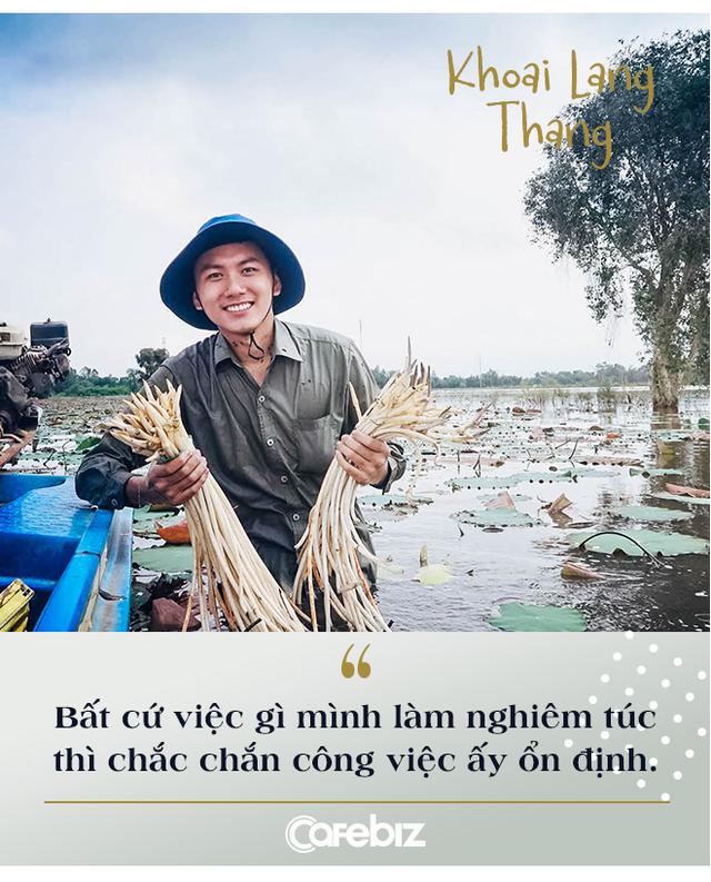 """Bỏ công việc kỹ sư để theo đuổi nghề Youtube bất ổn, nhiều người nói sinh ra ở vạch đích, travel vlogger Khoai Lang Thang cười: """"Tôi không giàu, tôi thậm chí được sinh ra ở nông thôn"""" - Ảnh 2."""