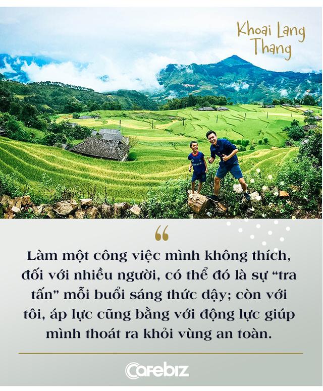 """Bỏ công việc kỹ sư để theo đuổi nghề Youtube bất ổn, nhiều người nói sinh ra ở vạch đích, travel vlogger Khoai Lang Thang cười: """"Tôi không giàu, tôi thậm chí được sinh ra ở nông thôn"""" - Ảnh 3."""