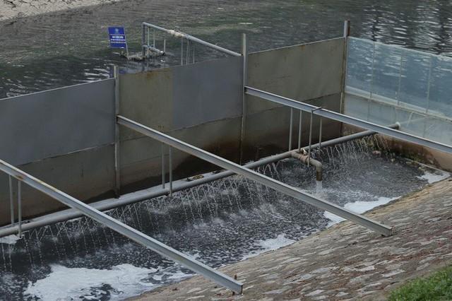 Công ty Thoát nước Hà Nội trần tình việc xả nước hồ Tây cuốn trôi kết quả của chuyên gia Nhật ở sông Tô Lịch - Ảnh 3.