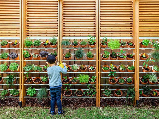Ngôi nhà mơ ước với những cánh cửa lùa ôm trọn khu vườn đứng xanh tươi bên ngoài - Ảnh 1.