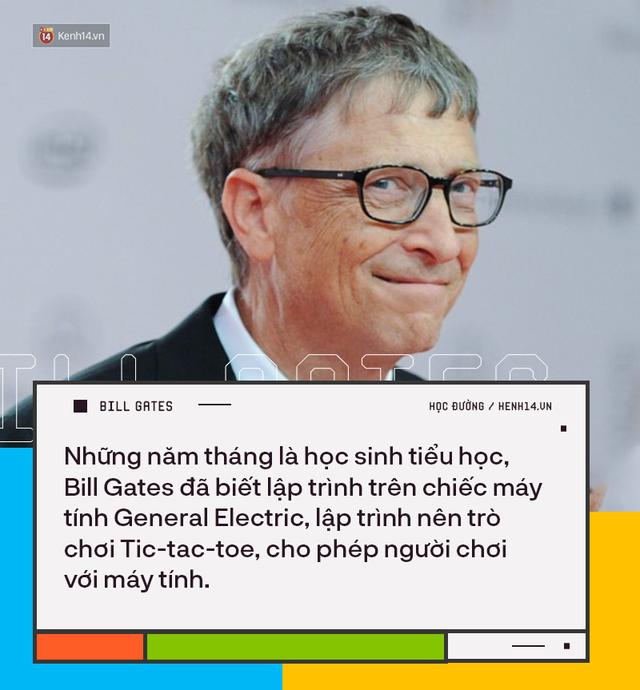 Người trẻ đua nhau bỏ học Đại học để thành tỷ phú như Bill Gates nhưng có 8 sự thật về việc học của ông không phải ai cũng biết - Ảnh 2.
