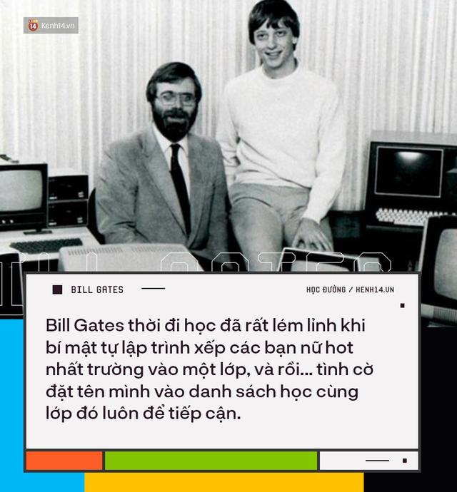 Người trẻ đua nhau bỏ học Đại học để thành tỷ phú như Bill Gates nhưng có 8 sự thật về việc học của ông không phải ai cũng biết - Ảnh 3.
