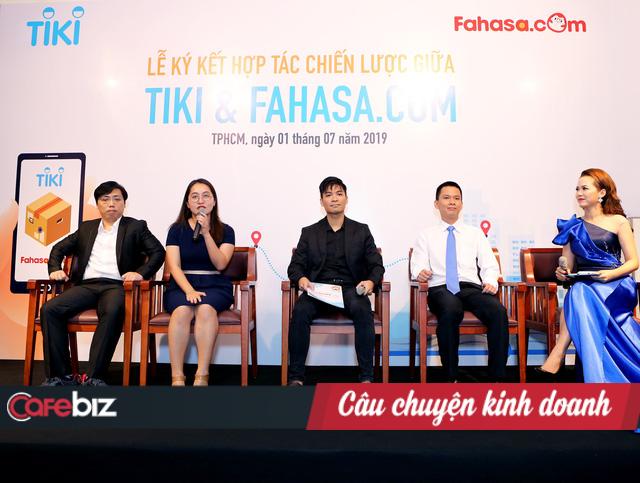 Sau khi bị phát hiện gián tiếp bán sách giả trên sàn TMĐT, Tiki hợp tác chiến lược với Fahasa.com nhằm bảo vệ tác quyền - Ảnh 1.